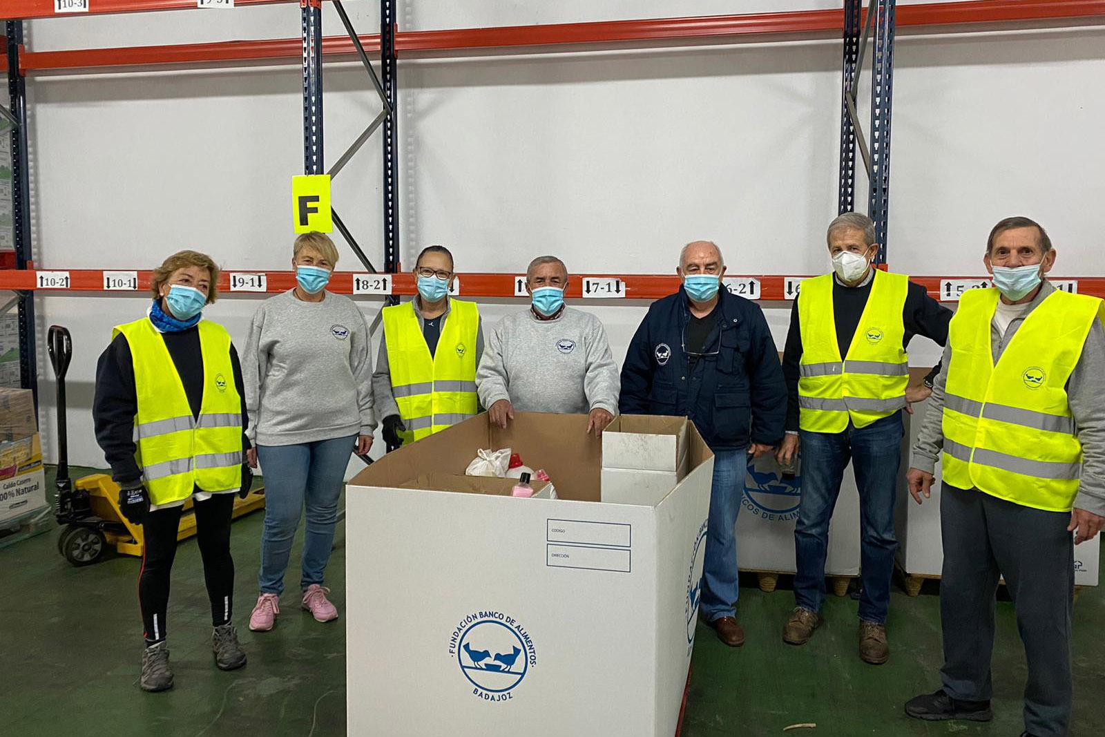 Banco de Alimentos de Badajoz - Voluntarios