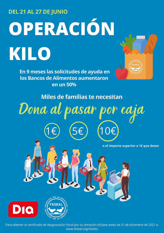 Operación Kilo Día - Banco de Alimentos de Badajoz