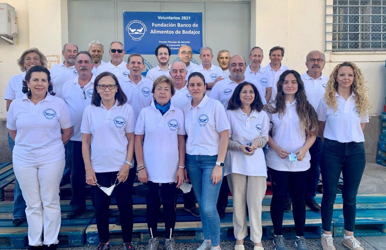 Voluntarios 2021 - Banco de Alimentos de Badajoz